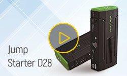 Испытание пускозарядного устройства Jump Starter D28 в реальных условиях