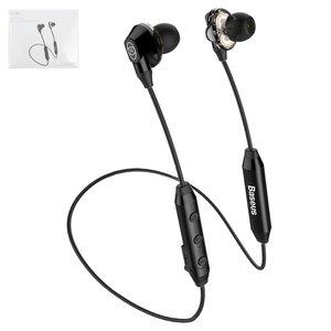 Гарнитура Baseus S10, вакуумные, беспроводные, черные, micro USB тип B, с micro USB кабелем тип В, #NGS10 01