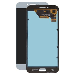 LCD Samsung A810 Dual Galaxy A8 (2016), (blue, with touchscreen, original  (change glass) )