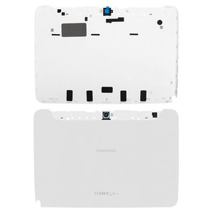 Back Cover for Samsung N8000 Galaxy Note Tablet, (white)