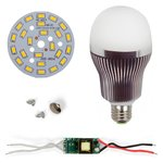 LED Light Bulb DIY Kit SQ-Q32 5730 12 W (warm white, E27)