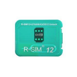 R-Sim 12+ Unlocking Card for iPhone X / 8 / 8 Plus / 7 / 7 Plus / 6S / 6S Plus / 6 / 6 Plus / 5 SE / 5S / 5C / 5