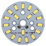 Placa PCB con diodos LED de 9 W (luz blanca fría, 1080 lm, 50 mm)