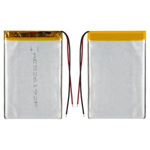 Batería, 90 mm, 58 mm, 3.2 mm, Li-ion, 3.7 V, 1800 mAh