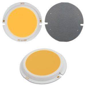 COB LED модуль 5 Вт (теплый белый, 450 лм, 43 мм, 300 мА, 15-17 В)
