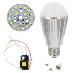 Комплект для сборки светодиодной лампы SQ-Q17 9 Вт (холодный белый, E27), диммируемый