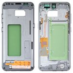 Средняя часть корпуса Samsung G950FD Galaxy S8, серебристая, arctic silver