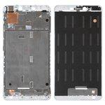 Рамка крепления дисплея Xiaomi Mi Max 2, белая