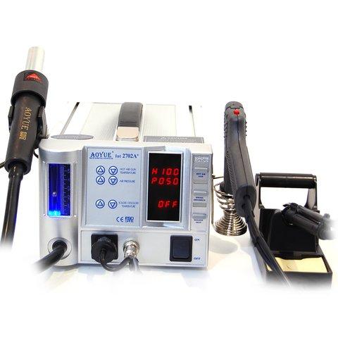 Термоповітряна паяльна станція для безсвинцевого паяння AOYUE 2702A+ (220 В)
