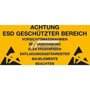 Warmbier 2850.300500.KS.D Предупреждающие наклейки об антистатической безопасности (10 шт.)