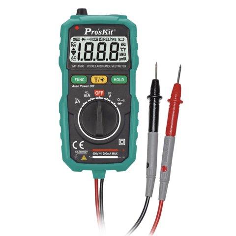 Цифровий мультиметр Pro'sKit MT 1508