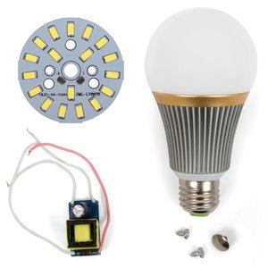 Комплект для збирання світлодіодної лампи SQ-Q23 9 Вт (холодний білий, E27)