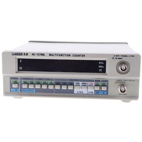 Цифровий частотомір Zhaoxin HC F2700l