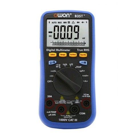 Цифровой Bluetooth мультиметр OWON B35T+