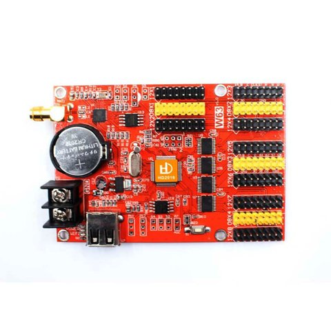 Контролер LED дисплея Huidu HD W63 1024×128, 2048×64