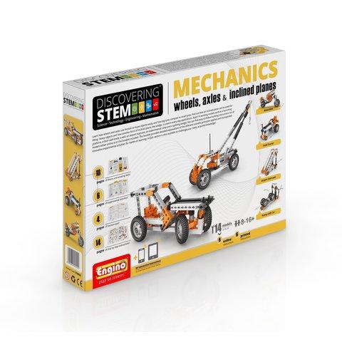 STEM-конструктор Engino Механика: колёса, оси и наклонные плоскости