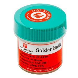 Lead-Free BGA Balls (0.5mm) Jovy Systems JV-LFSB050