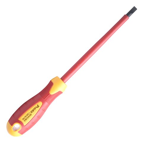 Insulated Slotted Screwdriver Pro'sKit SD 810 S6.5